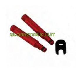 VALVE EXTENSION TORQUE LENDS 50 mm RED