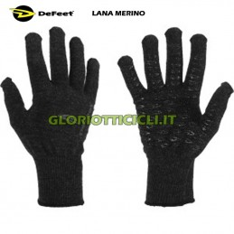 WINTER GLOVES DURAGLOVE DEFEET-VARIOUS BLACK SIZES