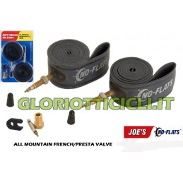 2 TUBELESS RIM STRIP VALVOLA PRESTA ALL MOUNTAIN
