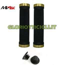 BLACK KNOBS WITH GOLD LOCKING