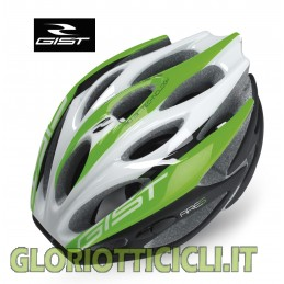ROAD HELMET OR MTB ARES BLACK/GREEN FLUO