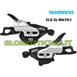 GEAR CONTROL PAIR 10 VEL. SLX SL-M670-I I-SPEC