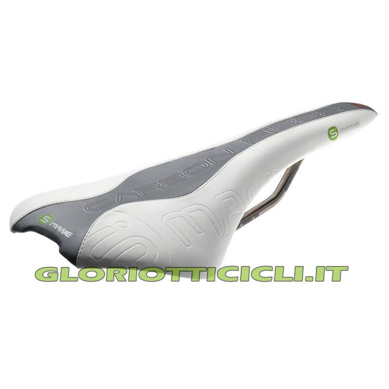 SADDLE WHITE CARBON FIBER