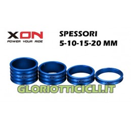 SPACERS BLUE STEERING SERIES,5-10-15-20mm