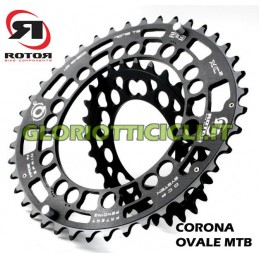 OVAL MTB CROWN FOR DOUBLE BCD74.5