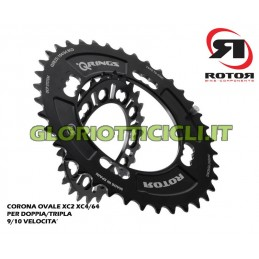 OVAL CROWN MTB XC2 104/64 FOR DOUBLE/TRIPLE 9)10V WHEEL 29""
