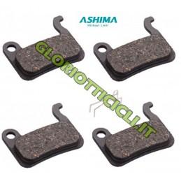 SET 4 PASTIGLIE ORGANICHE COMPATIBILI SHIMANO XTR 965/966