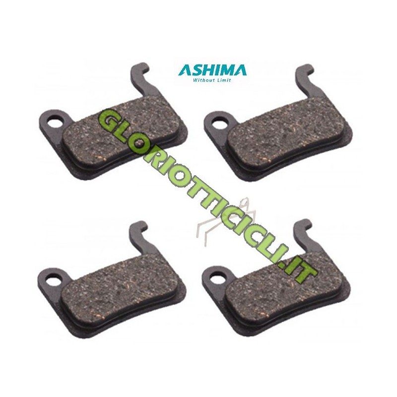SET 4 COMPATIBLE ORGANIC PADS SHIMANO XTR 965/966