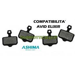 SET 4 PASTIGLIE COMPATIBILI CON AVID ELIXIR R-CR