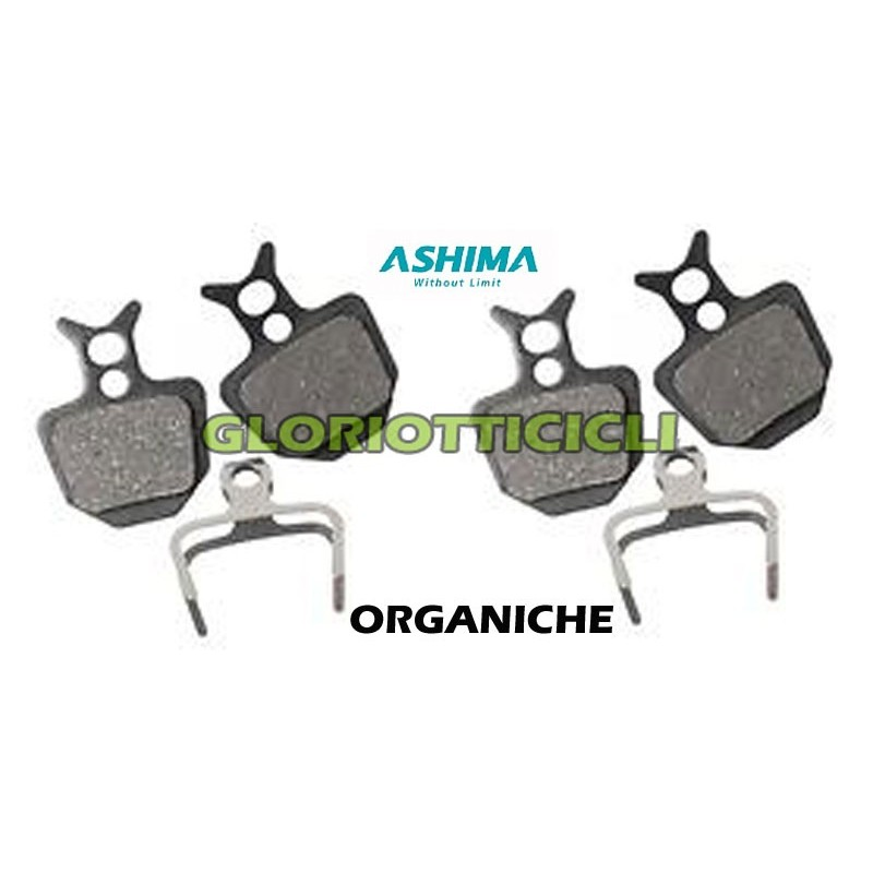 SET 4 ORGANIC PADS COMPATIBLE WITH GOLD FORMULA BRAKES