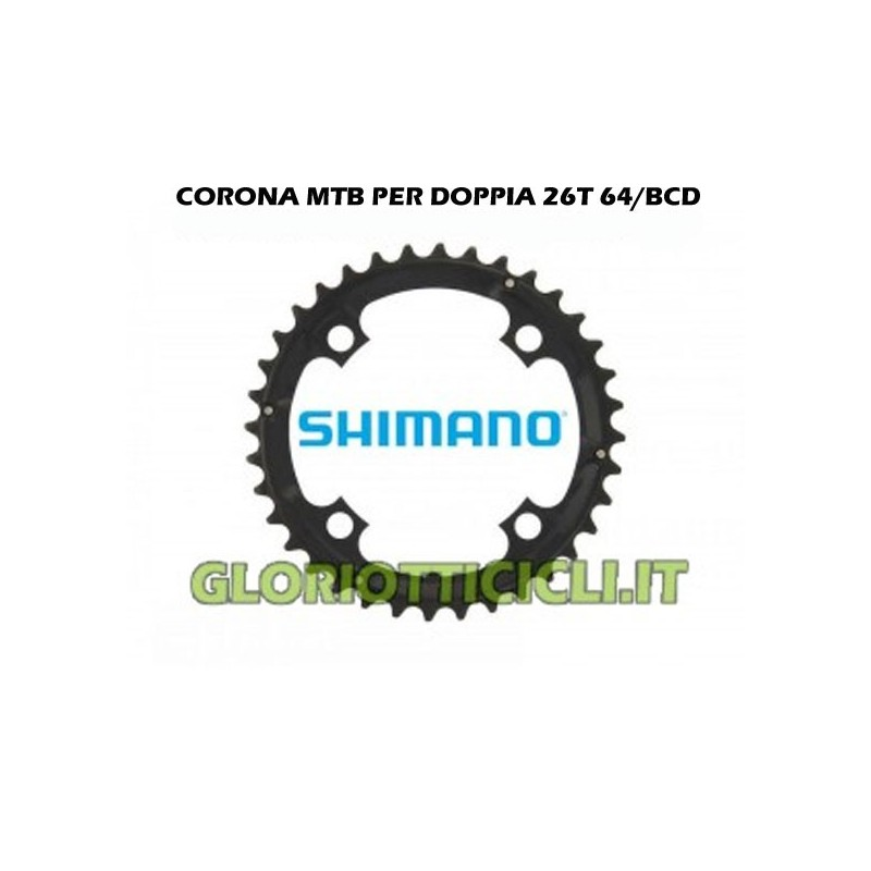 CROWN MTB FOR DOUBLE 26T 64/BCD