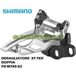 Deore XT FD-M785-E2 Top-Swing deragliatore anteriore per montaggio BB 2x10