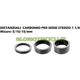 CARBONIO - DISTANZIALI SERIE STERZO DA 5-10-15-mm