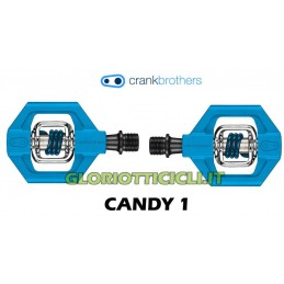 CANDY 1 BLUE PEDAL PAIR
