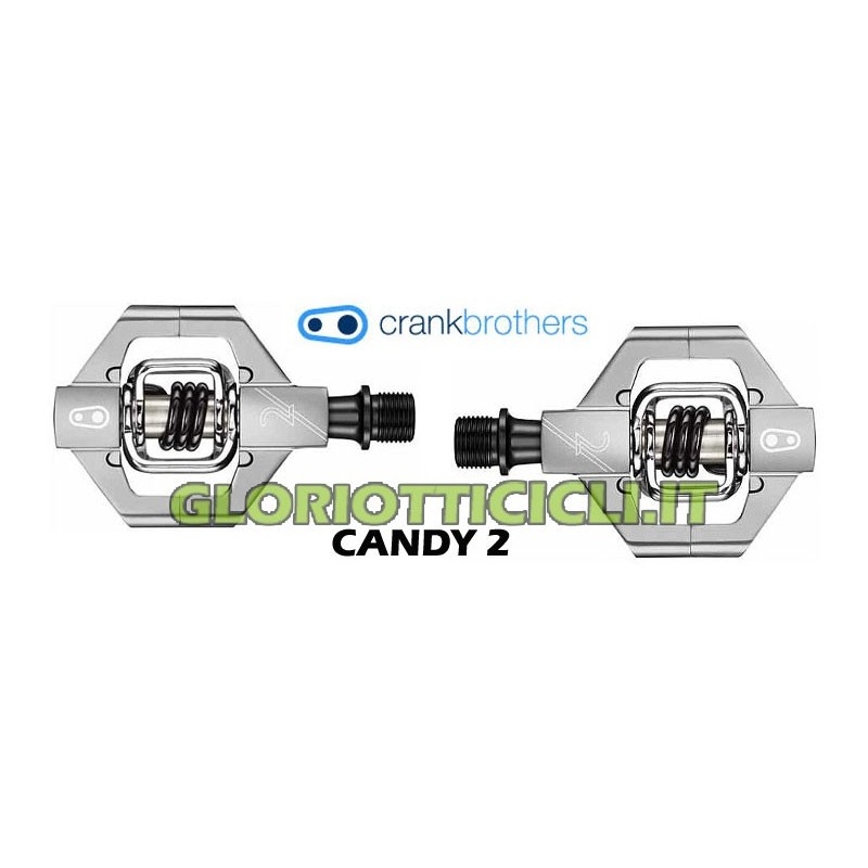 CANDY 2 SILVER PEDAL PAIR