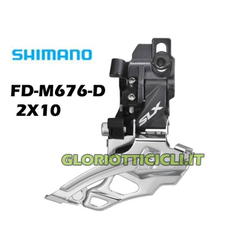 2X10 FD-M676-D DERAILLEUR