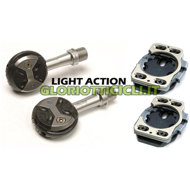 LIGHT ACTION PEDAL PAIR