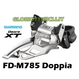 SHIMANO DERAILER XT FD-M785 2x10 Top Swing Speed