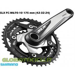 GUARNITURA SLX FC-M670 10 vel 175 mm