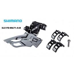 3x10 Speed SLX FD-M671-A-B 3x10 DERATOR