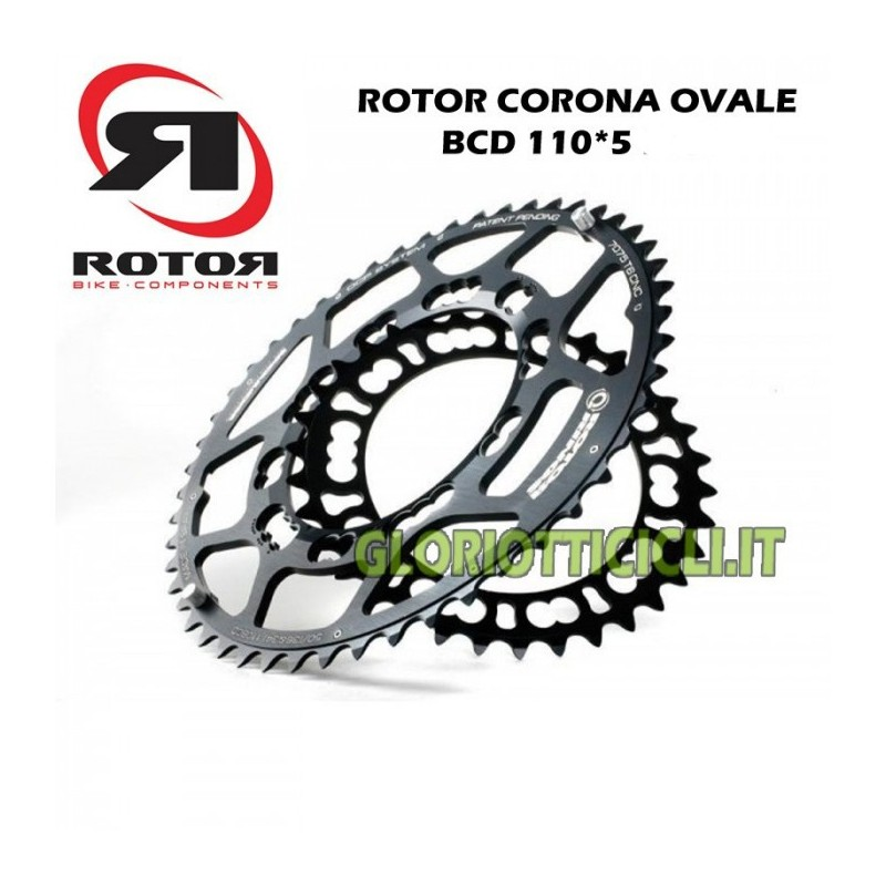 BCD110*5 BLACK OVAL RUNNING CROWN
