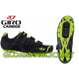 SCARPE MTB CARBIDE BLACK-HIGHL YELLOW