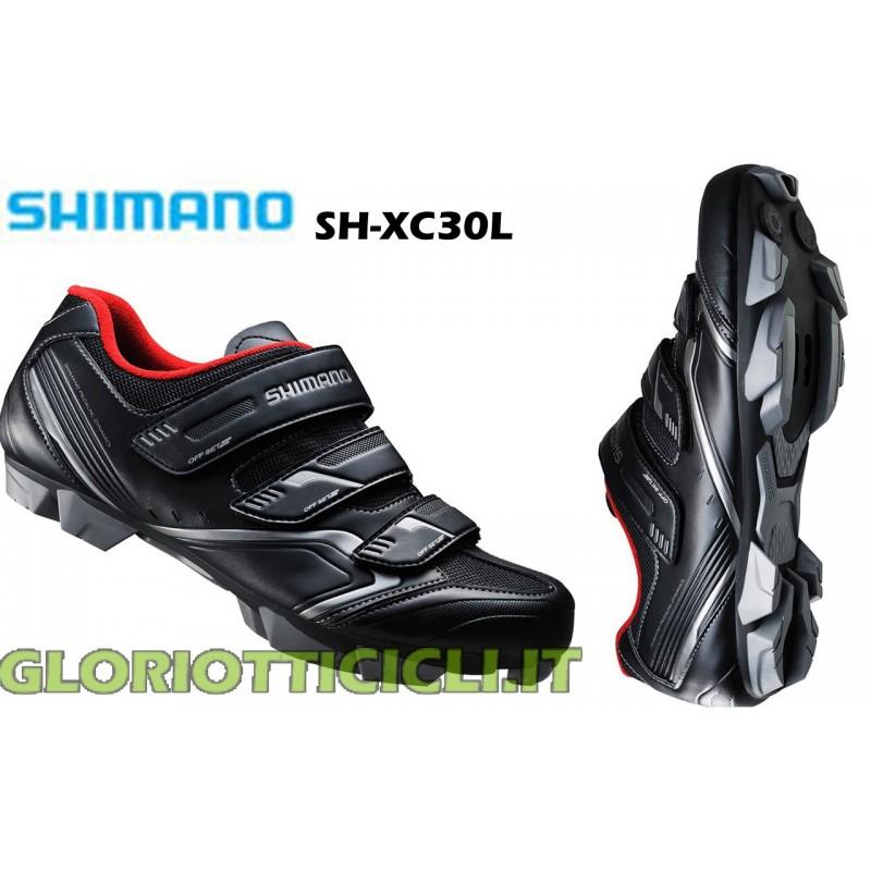 SH-XC30L BLACK-SPD MTB SHOES