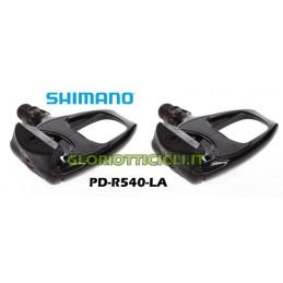 COPPIA PEDALI CORSA SHIMANO PD-R540-LA