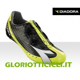 VORTEX-PRO BLACK/FLUO/WHITE SHOES