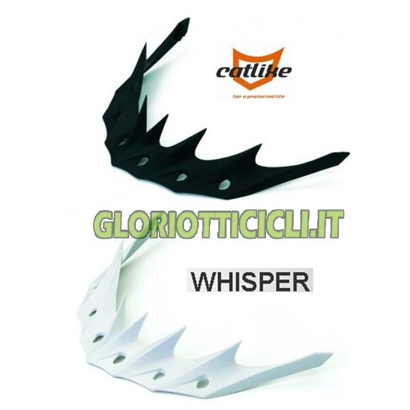 WHISPER PLUS HELMET VISOR