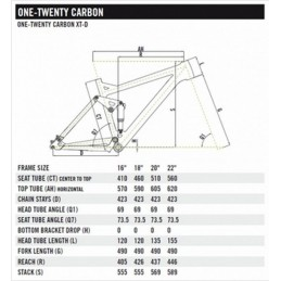 CHASSIS ONE-TWENTY CARBON 2000D