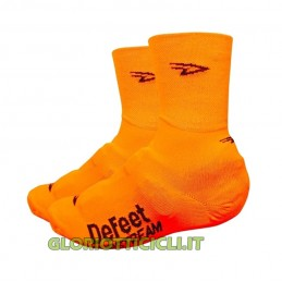 PAIR OF FLUORESCENT ORANGE SLIPSTREAM SHOE COVERS