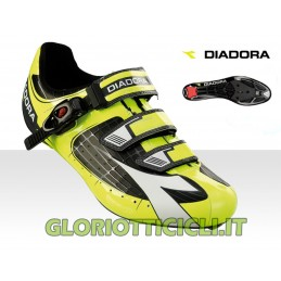 FLUORESCENT YELLOW TORNADO RUNNING SHOES