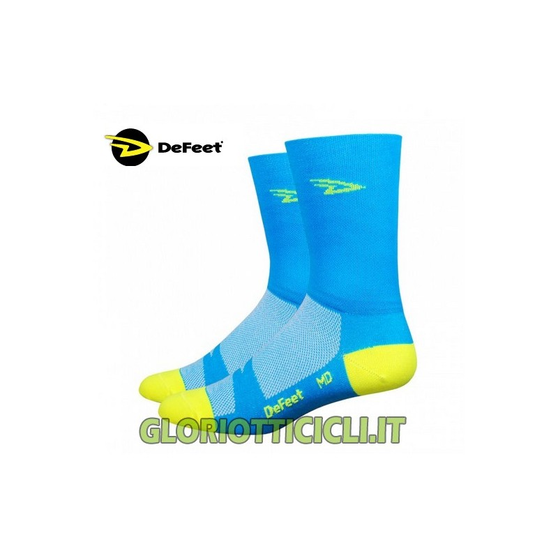 CALZE AIREATOR BLUE-YELLOW/FLUO
