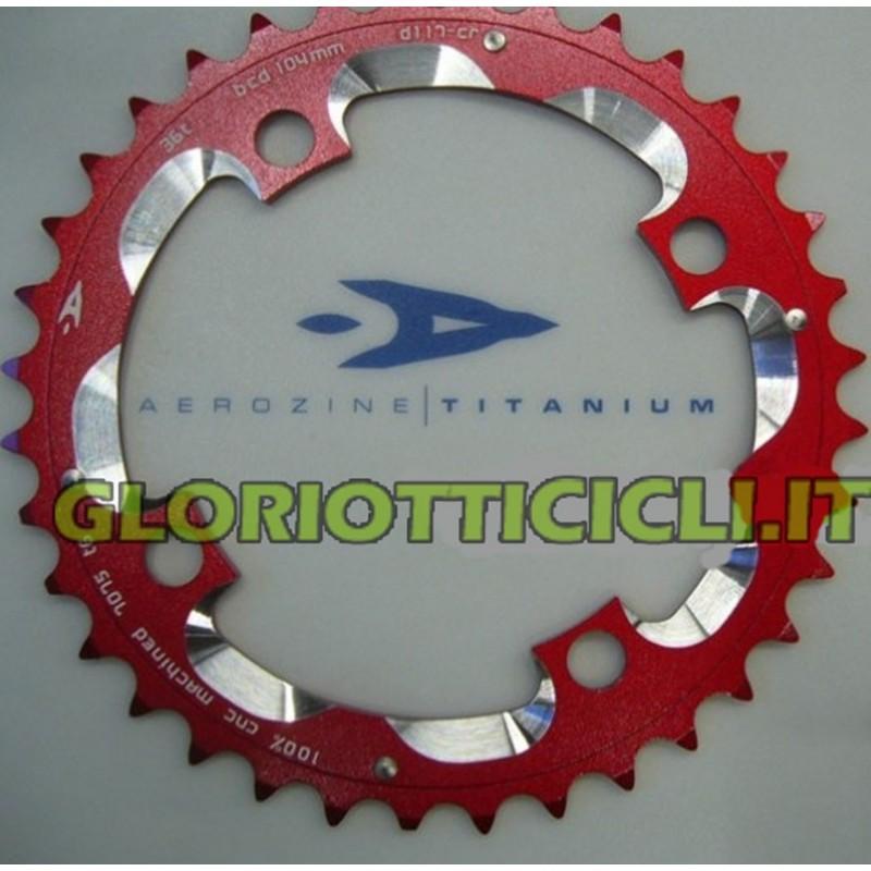 CROWN MTB BCD 104 mm 40 TEETH CNC RED