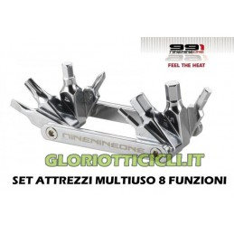 MULTIPURPOSE TOOL SET 8 FUNCTIONS