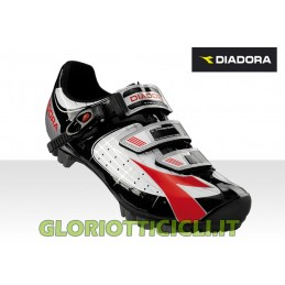 SCARPE MTB X-TORNADO WHITE-BLACK-RED