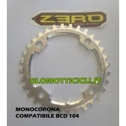 SHIMANO 104BCD COMPATIBLE SINGLE CROWN