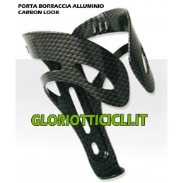 PORTA BORRACCIA ALLUMINIO CARBON LOOK