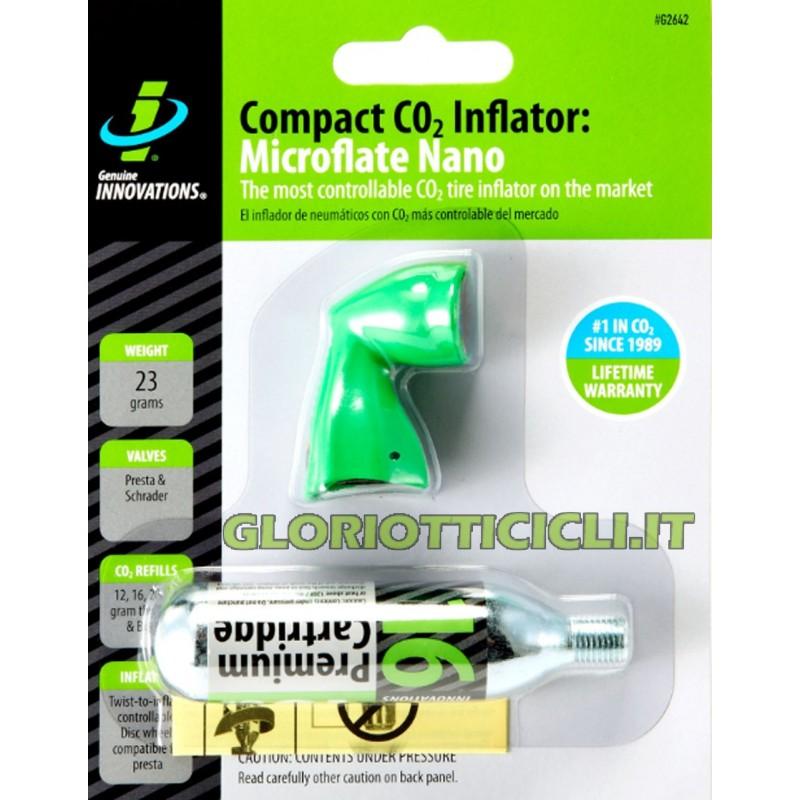 COMPACT CO2 INFLATOR MICROFLATE NANO