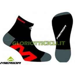 COPPIA CALZE BLACK/RED 2014
