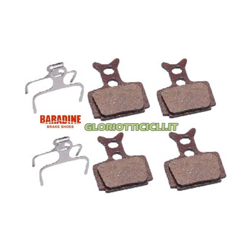 SEMI-METALLIC BRAKE PAD KIT