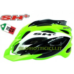 CASCO MTB SHOT XC GREEN-WHITE-BLACK-S/L (55-60)