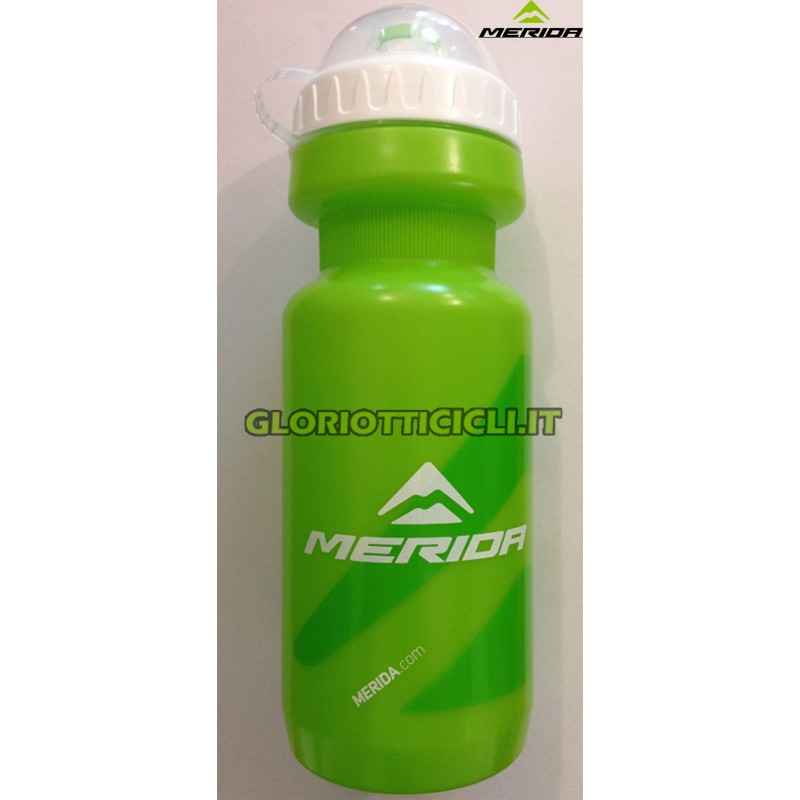 WATER BOTTLE 500CC,GREEN, M LOGO,W/CAP