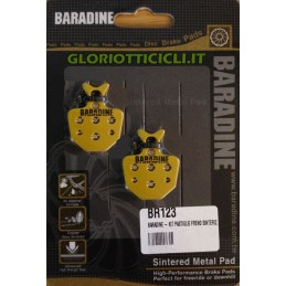 SINTERED BRAKE PAD KIT FORMULA GOLD