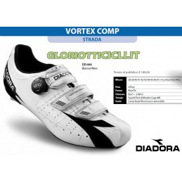 SCARPE CORSA VORTEX COMP WHITE/BLACK