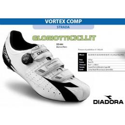VORTEX COMP WHITE/BLACK RUNNING SHOES