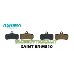 KIT 4 SEMI-METALLIC PADS FOR SHIMANO SAINT BR-M810