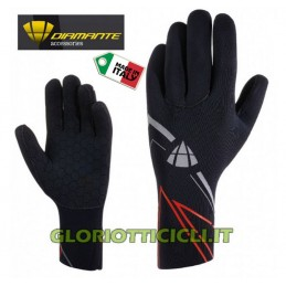 GUANTI INVERNALI NEOPRENE BLACK RED