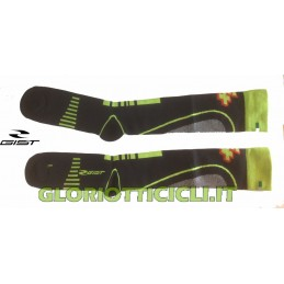 FLUO GREEN GRADUATED COMPRESSION SOCKS